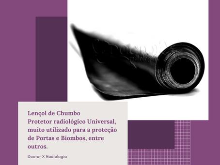 LENÇOL DE CHUMBO ☢️