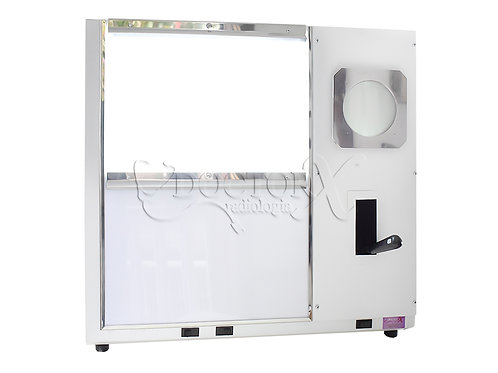 Negatoscópio Mamográfico de 2 Corpos para 4 Filmes de 20x25cm