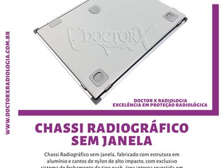 Chassi Radiográfico Sem Janela ☢️