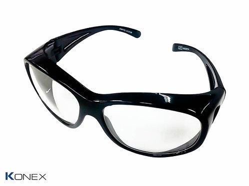 Óculos Plumbífero com proteção frontal 0.75mm Pb - Mod. ko-o750