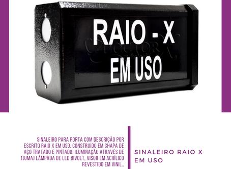 SINALEIRO RAIO X EM USO ☢️