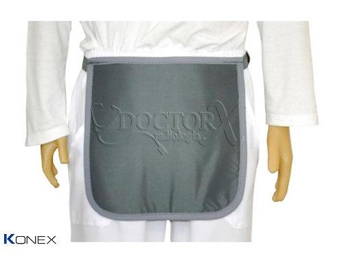 Avental para proteção de Órgãos genitais 30x30cm 0.50mm Pb
