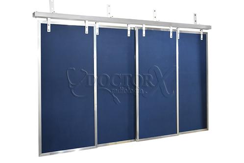 Cortinas Plumbíferas com Chumbo de 1mm - azul