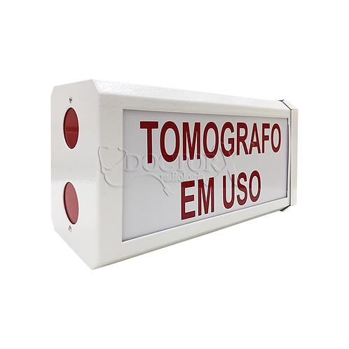Sinaleiro Tomógrafo em Uso
