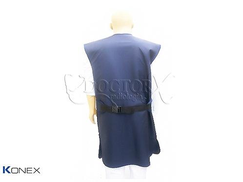 Avental Plumbífero com Proteção nas costas 0,50mm Pb 110x60cm c/ C.A.