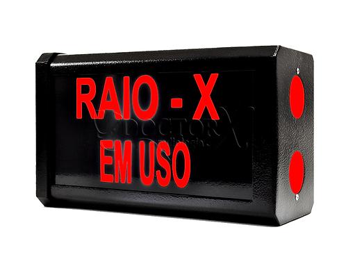 Sinaleiro Raio - X em Uso