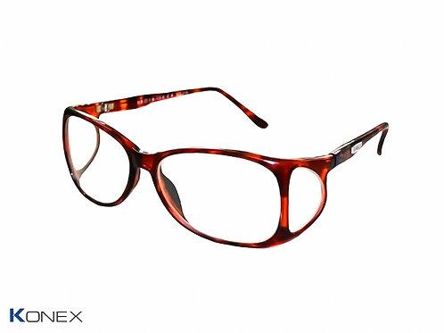 Óculos Plumbífero com proteção frontal 0.75mm Pb e lateral 0,5mm Pb - Mod. ko-o730