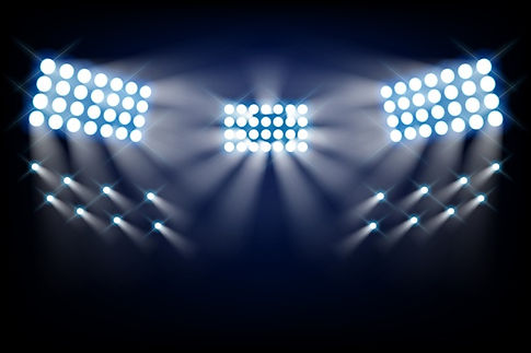 stadium-bright-lights-front-view_23-2148
