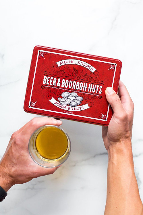 Tin Gift Box of Nuts
