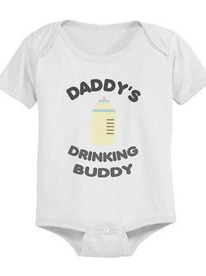 Daddy's Little Drinking Buddy Onsie