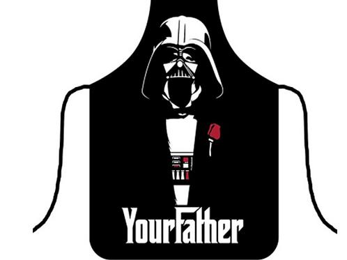 Darth Vader Apron   Star Wars