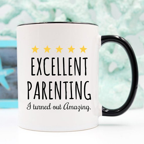 Excellent Parenting Mug - For Father's Day