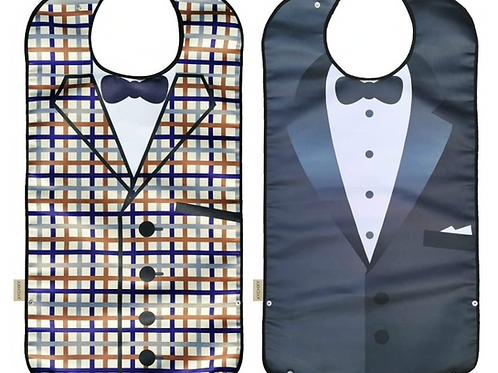 Adult Mens Tuxedo Bib or Commuter Clothes Protector