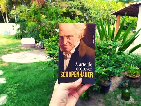 Resenha: Aprendendo Escrita Criativa com Schopenhauer em A Arte de Escrever