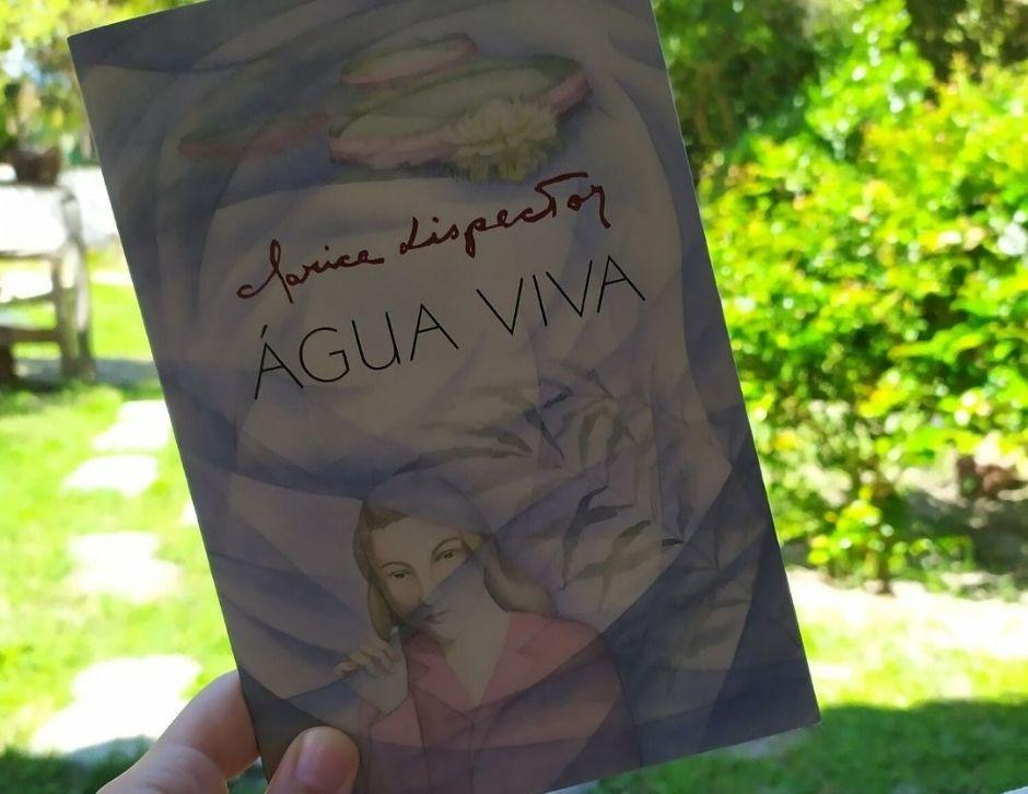 livro, clarice lispector, água viva, resenha