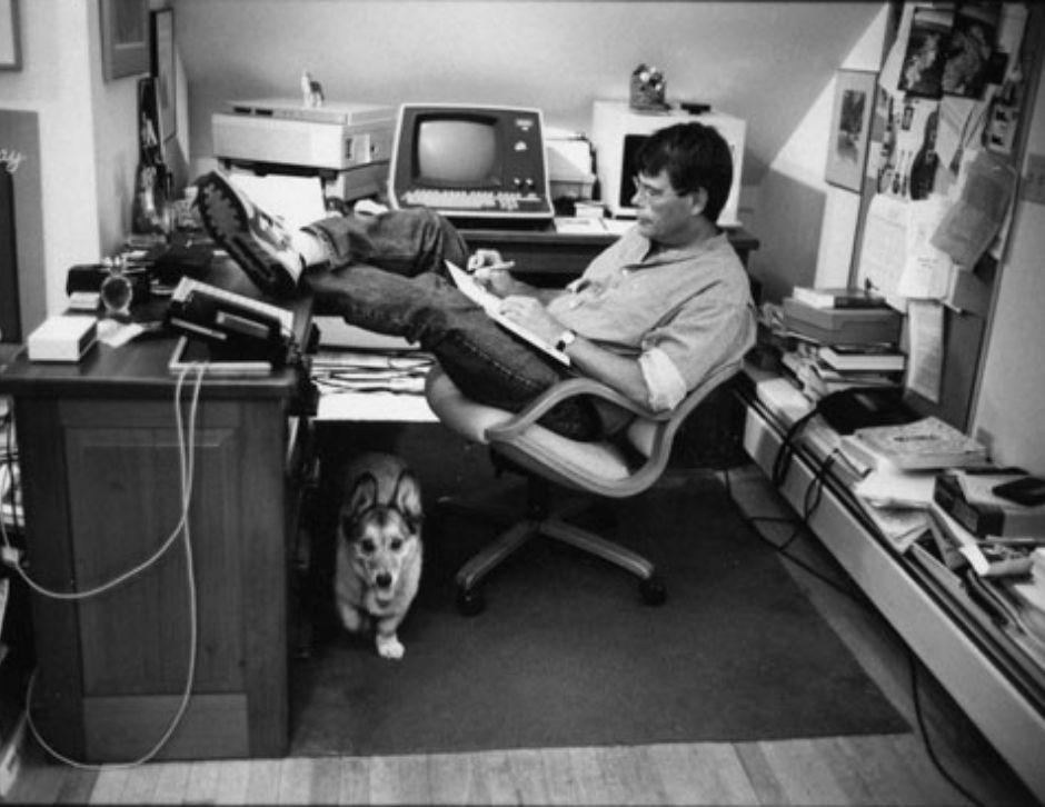livro, escritor, Stephen King