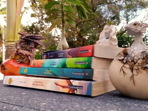 Asas de Fogo: uma Série de Livros em que os Protagonistas São Dragões