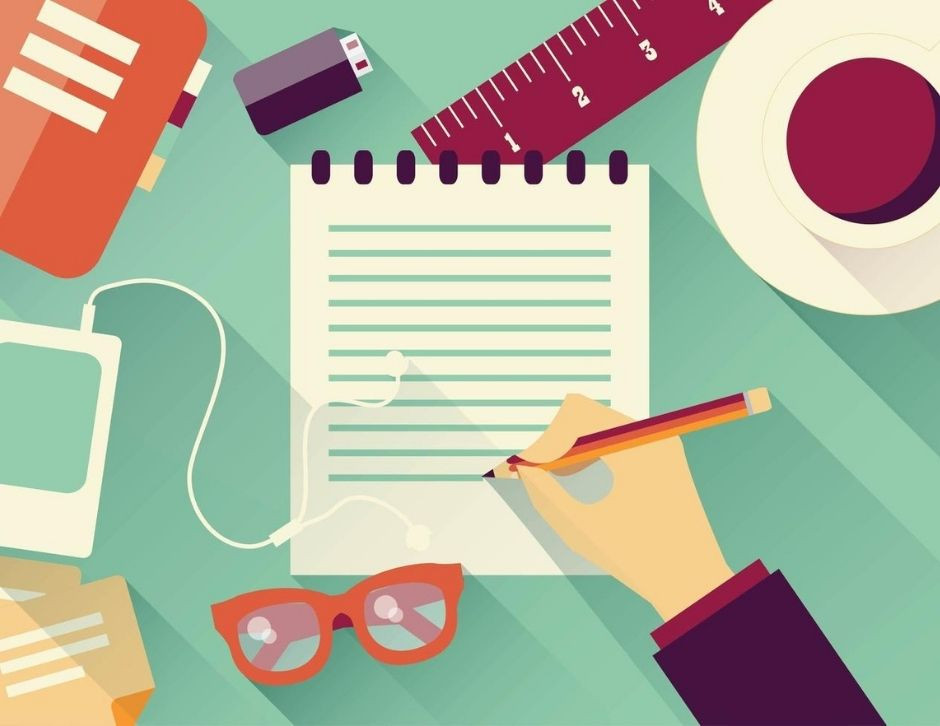 livro, ideia e escrita criativa