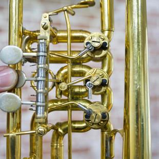 Schagerl Trompete mit gebrochener Mechanik