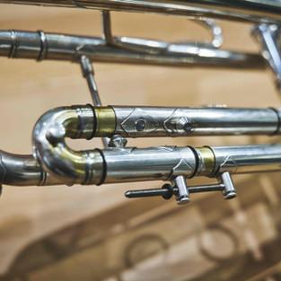 Reparatur des 3. Zugs einer Bach Stradivarius Trompete