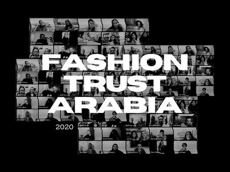 FASHION TRUST ARABIA ANNOUNCE 2020 WINNERS