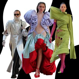 Watch & Browse: Central Saint Martins BA Fashion Show 2021