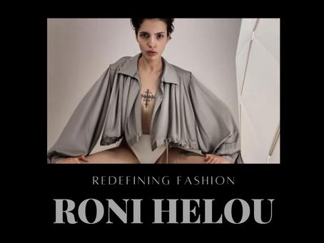 THE FUTURE OF MENA FASHION: Meet Roni Helou