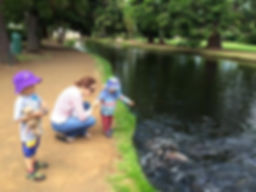 三文魚養殖場 Salmon Ponds