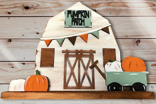 Stand Up Pumpkin Patch Barn