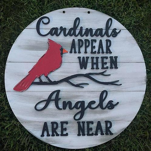 Cardinals zapper Door Hanger