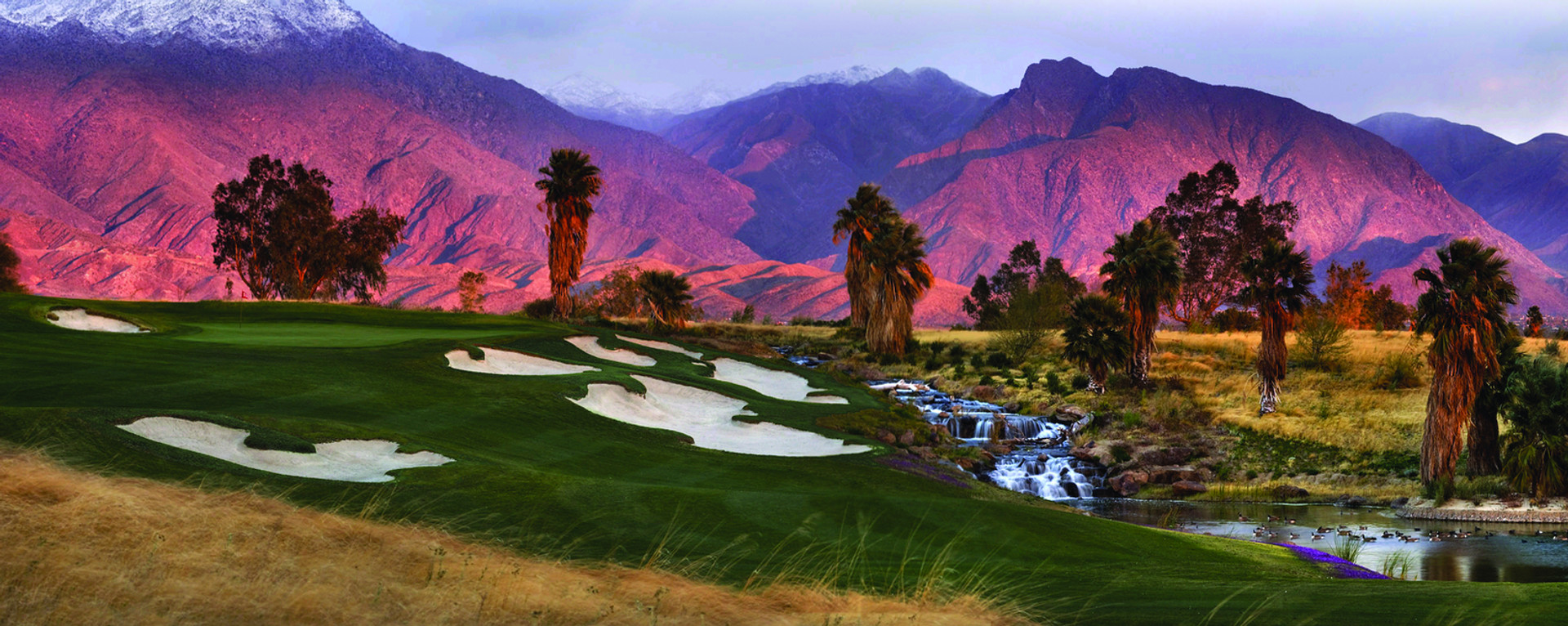 Rams Hill Golf at sunset