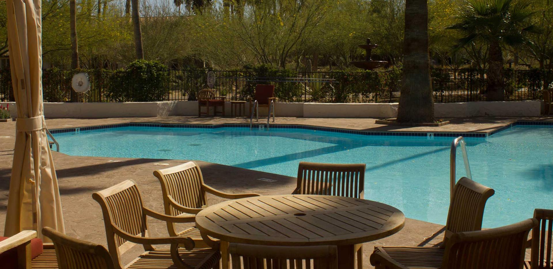 Fox Den pool