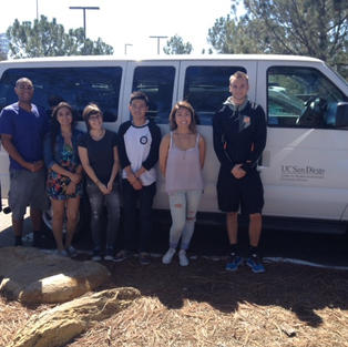 New UCSD Vans for Outreach