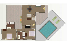 Desert Willow - Floor Plan