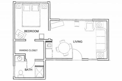 Tamarisk - Floorplan