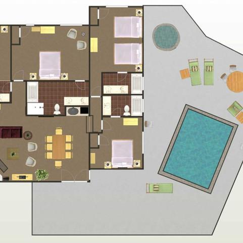 Agave - Floor Plan