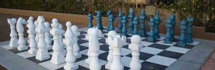 Huge chess board