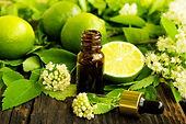Limes, essential oils, blossoms