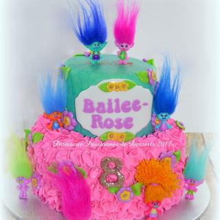 Gâteau Trolls