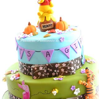 Gâteau Winnie the Pooh