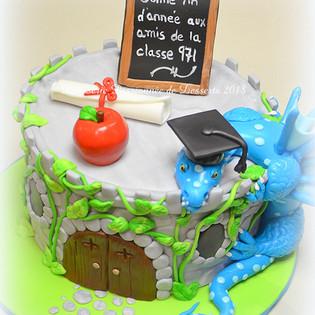 Gâteau finissants