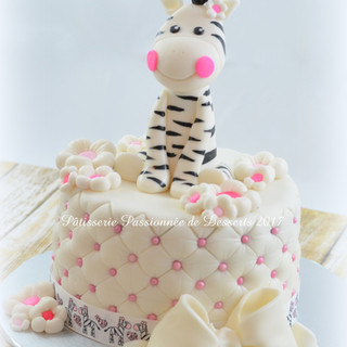Gâteau Petit zèbre