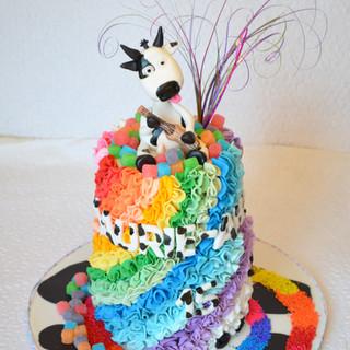 Gâteau Vache Ukulele