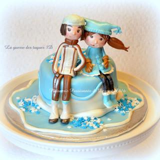 Gâteau La guerre des tuques