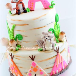 Gâteau Forêt