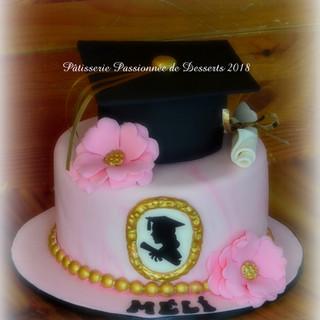 Gâteau finissante