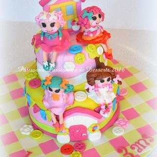 Gâteau Poupées