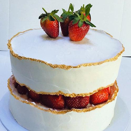 """FAULT LINE"" CAKE"