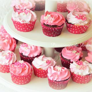 Tour de cupcakes Roses