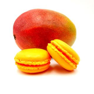 Macarons Mangues